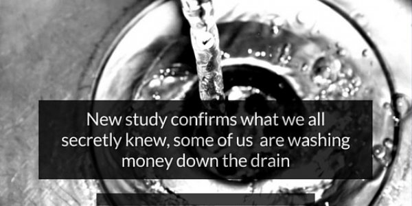 New study confirms what we all secretly knew, some of us are washing money down the drain.