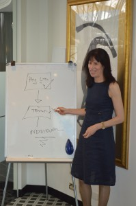 Partner & Director Lisa Morgan presenting at one of our seminars