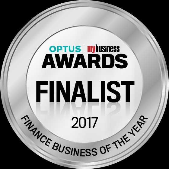 Optus business award finalist