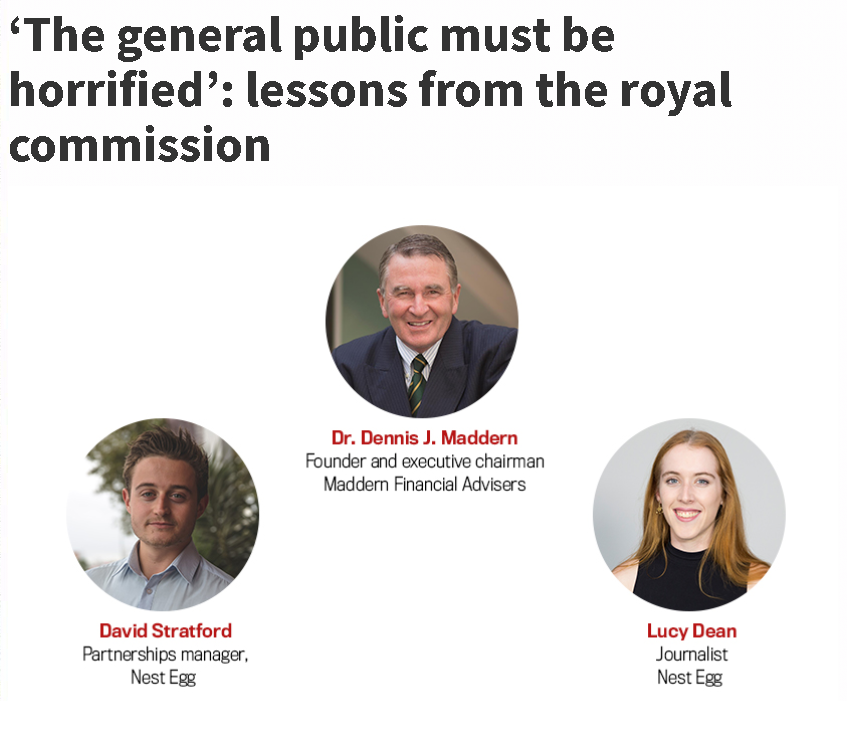 Maddern Financial Advisers - Lessons from the banking royal commission